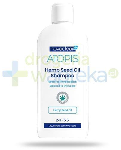 NovaClear Atopis Hemp Seed Oil Shampoo szampon z organicznym olejem konopnym 250 ml