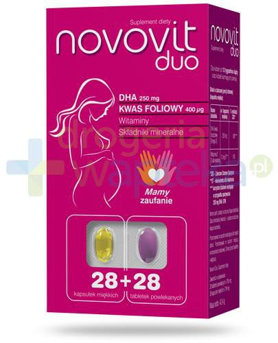 Novovit Duo 28 kapsułek + 28 tabletek