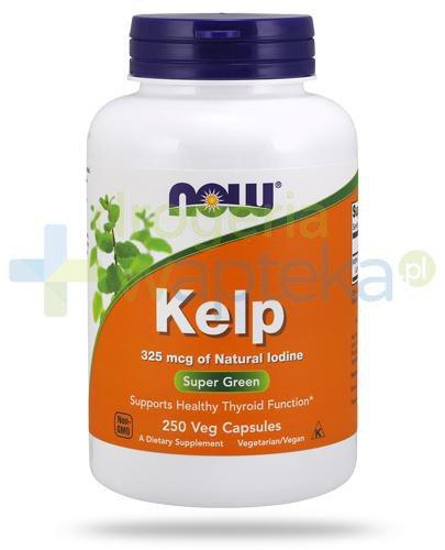 NOW Foods Kelp 325mcg 250 kapsułek vege