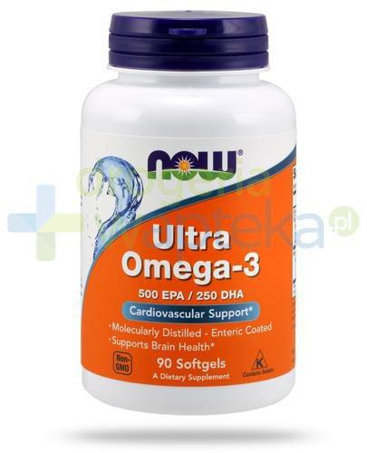 NOW Foods Ultra Omega-3 90 kapsułek