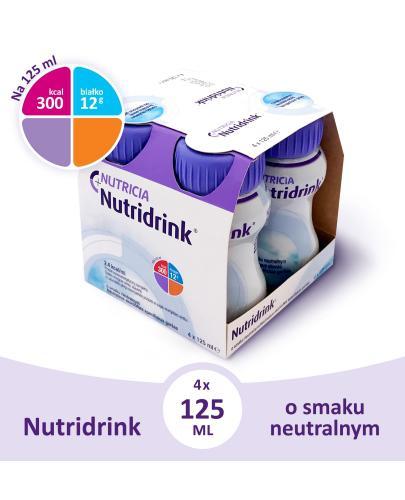 Nutridrink o smaku neutralnym 4x 125 ml