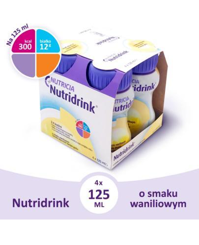 Nutridrink o smaku waniliowym 4x 125 ml