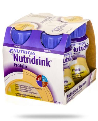 Nutridrink Protein smak waniliowy 4x 125 ml