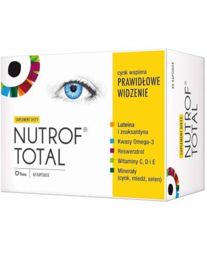 Nutrof Total z witaminą D3 60 kapsułek