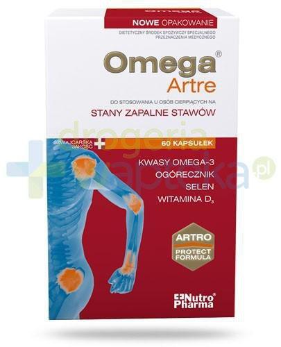 NutroPharma OmegaArtre Stany zapalne stawów 60 kapsułek