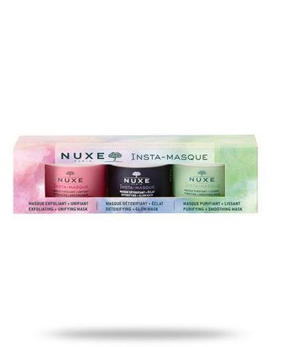 Nuxe Insta-Masque zestaw ekspresowych masek do twarzy 3x 15 ml [ZESTAW]