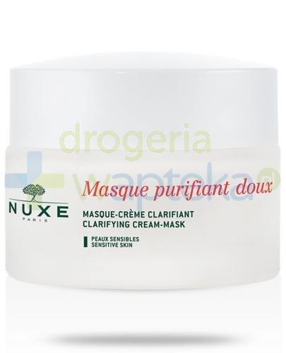 Nuxe Masque Purifiant Doux oczyszczająca maseczka krem z płatkami róży 50 ml  whited-out