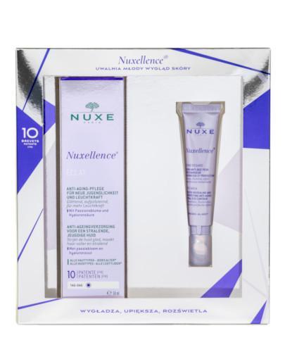 Nuxe Nuxellence Eclat fluid odsłaniający młody wygląd i blask skóry 50 ml + Zone Rega...
