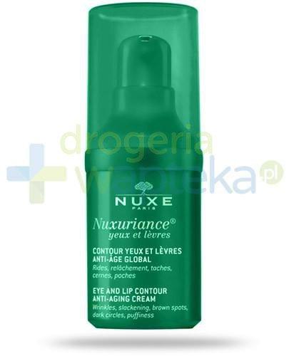 Nuxe Nuxuriance Yeux et Levres krem przeciwzmarszczkowy do pielęgnacji okolic oczu i ust 15 ml