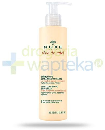 Nuxe Reve de Miel Creme Corps ultrakomfortowy balsam do ciała 200 ml  whited-out