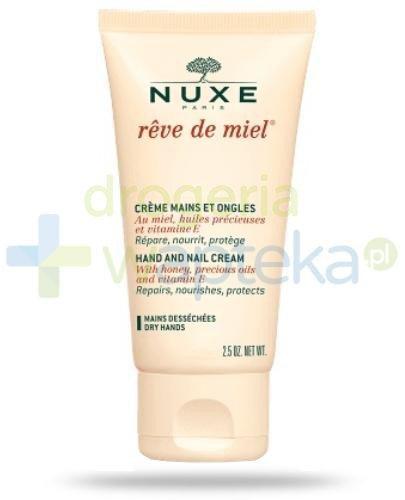 Nuxe Reve de Miel Creme Mains Krem do rąk i paznokci 50 ml