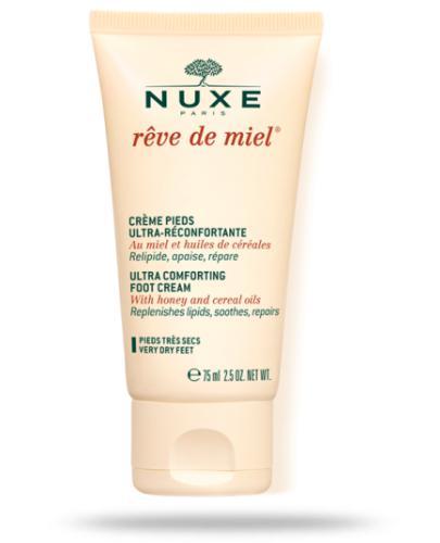 Nuxe Reve de Miel Creme ultra komfortowy krem do stóp 75 ml