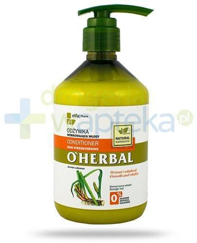O'Herbal Odżywka wzmacniająca włosy z ekstraktem z korzenia tataraku 500 ml Elfa Pharm [Data ważności 05-10-2020]