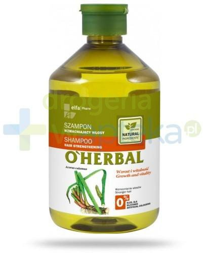 O'Herbal Szampon wzmacniający włosy z ekstraktem z korzenia z tataraku 500 ml Elfa Pharm