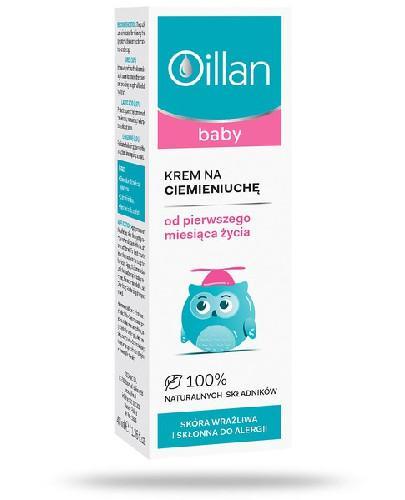 Oillan Baby krem na ciemieniuchę 40 ml