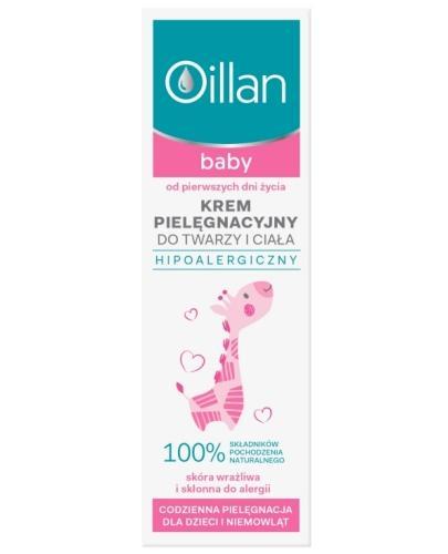Oillan Baby krem pielęgnacyjny do twarzy i ciała 75 ml