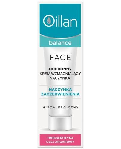 Oillan Balance Face ochronny krem wzmacniający naczynka 50 ml