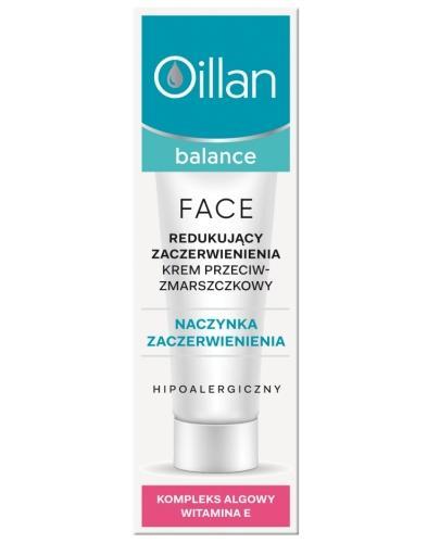 Oillan Balance Face redukujący zaczerwienienia krem przeciwzmarszczkowy SPF15 40 ml