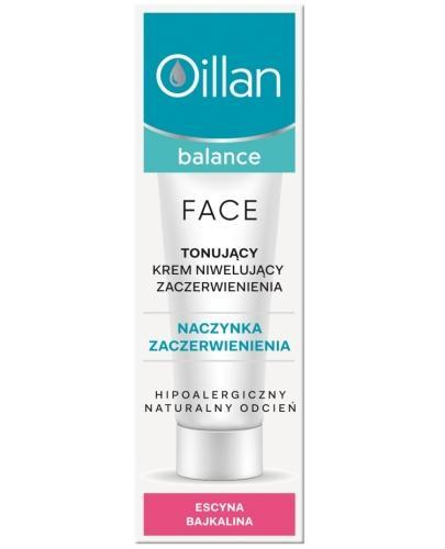 Oillan Balance Face tonujący krem niwelujący zaczerwienienia 40 ml