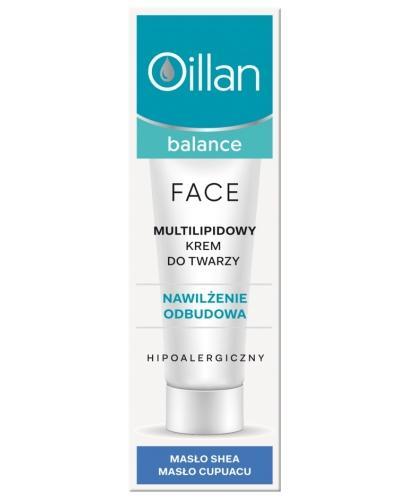 Oillan Balance multilipidowy krem do twarzy 40 ml