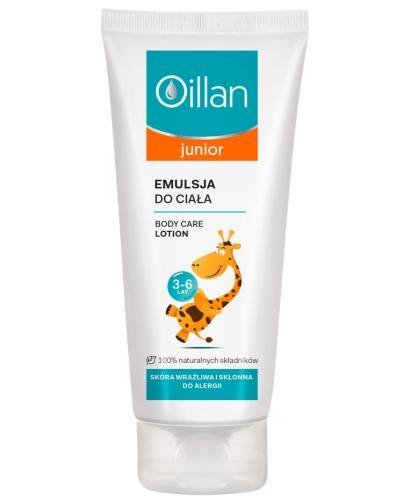 Oillan Junior emulsja do ciała dzieci 3-6 lat 200 ml
