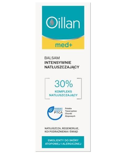 Oillan Med+ balsam intensywnie natłuszczający 400 ml