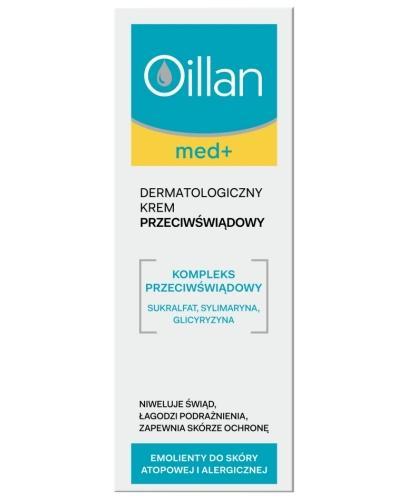 Oillan Med+ dermatologiczny krem przeciwświądowy 75 ml