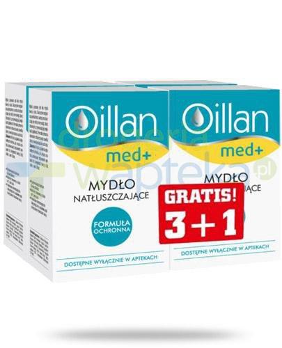 Oillan Med+ mydło natłuszczające 3 sztuki + 1 sztuka [18727]