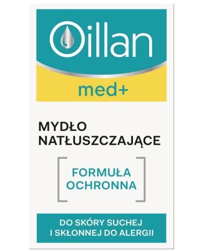Oillan Med+ mydło natłuszczające dla dzieci i dorosłych 100 g