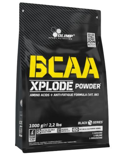 Olimp BCAA Xplode powder truskawka 1000 g