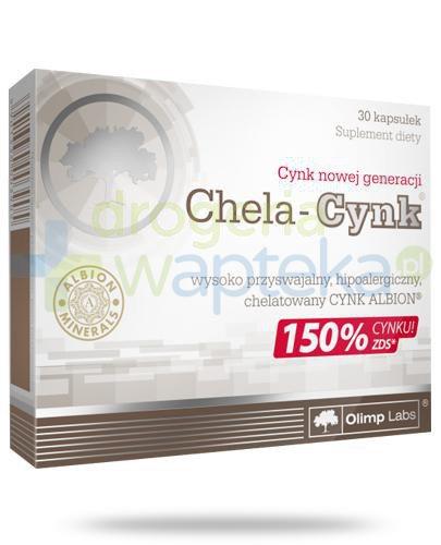 Olimp Chela-Cynk 30 kapsułek