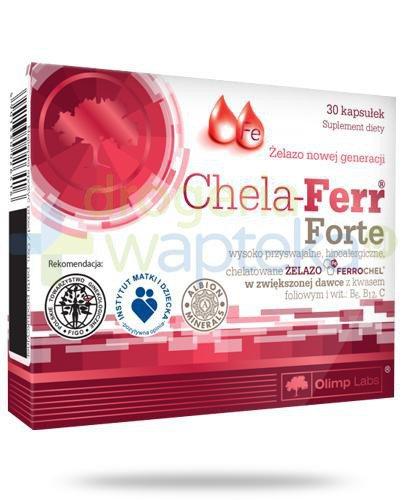 Olimp Chela-Ferr Forte 30 kapsułek