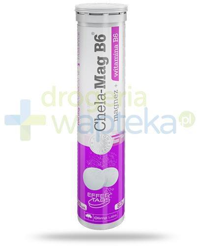 Olimp Chela-Mag B6 20 tabletek musujących