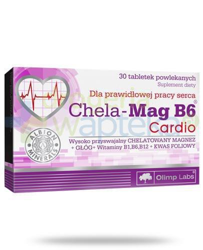 Olimp Chela-Mag B6 Cardio 30 tabletek