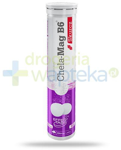 Olimp Chela-Mag B6 Skurcz 20 tabletek musujących