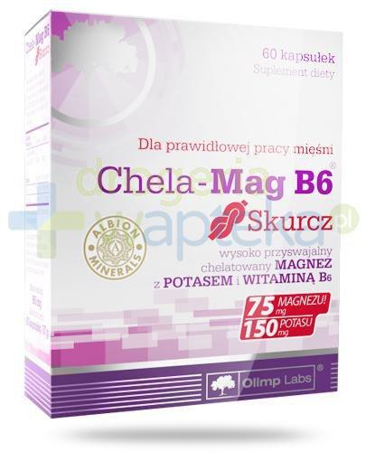 Olimp Chela-Mag B6 Skurcz 60 kapsułek