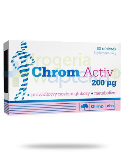Olimp Chrom Activ 200mcg 60 tabletek