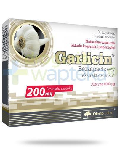 Olimp Garlicin 200mg 30 kapsułek