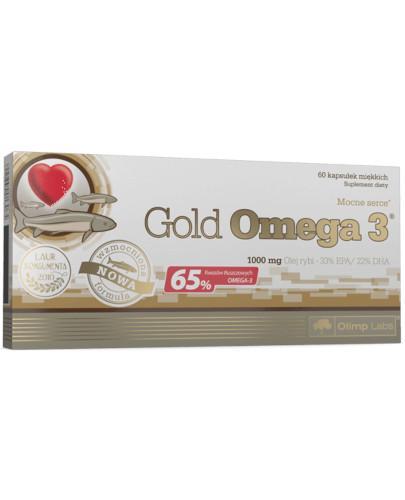 Olimp Gold Omega-3 60 kapsułek