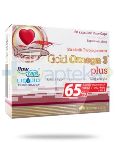 Olimp Gold Omega-3 Plus 60 kapsułek