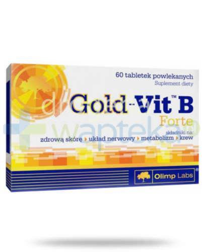 Olimp Gold-Vit B Forte 60 tabletek