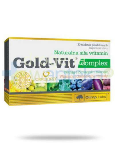 Olimp Gold Vit complex 30 tabletek