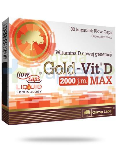 Olimp Gold-Vit D Max 30 kapsułek
