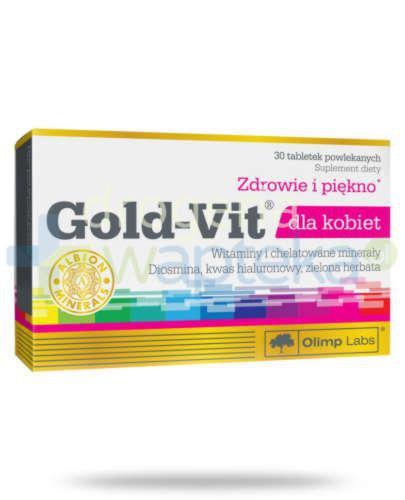 Olimp Gold Vit dla kobiet 30 tabletek