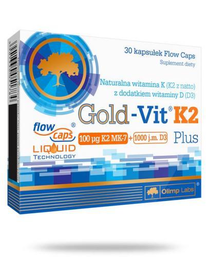 Olimp Gold-Vit K2 Plus 30 kapsułek