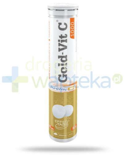Olimp Gold-Vit.C 1000 smak pomarańczowy 20 tabletek musujących