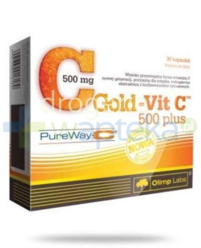 Olimp Gold-Vit.C 500mg Plus PureWay 30 kapsułek