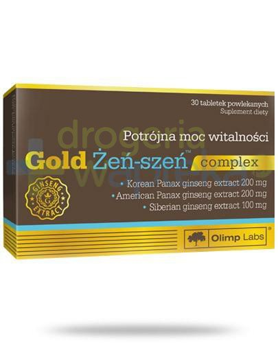 Olimp Gold Żeń-szeń Complex 30 tabletek
