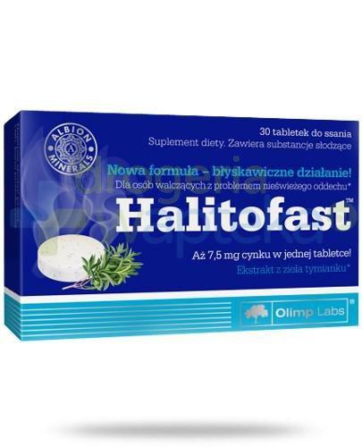 Olimp Halitofast na nieświeży oddech 30 tabletek
