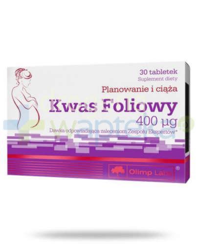 Olimp Kwas Foliowy 400ug 30 tabletek
